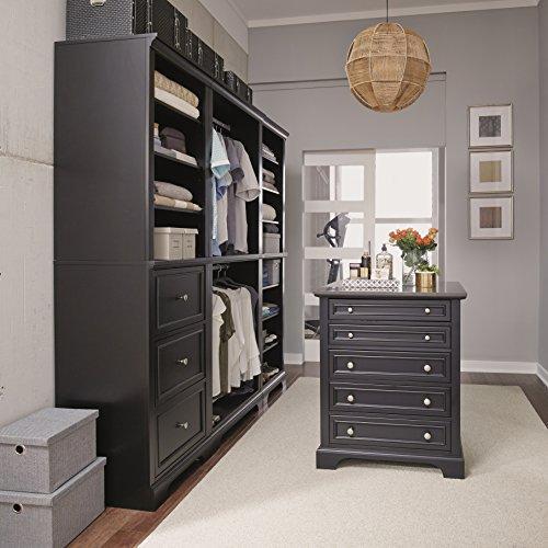 Home Styles Bedford 4 Pc Closet Organizer