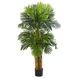 Nearly Natural 5' Triple Areca Palm Artificial Tree [Item # 5536C]