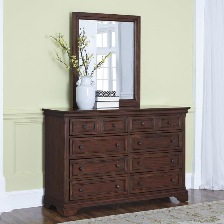 Home Styles Lafayette Dresser And Mirror