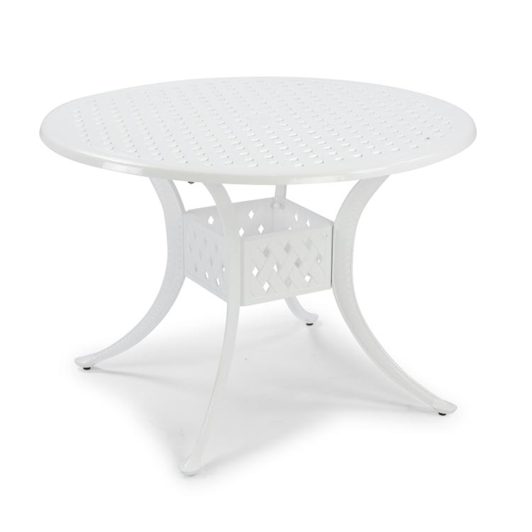Home Styles La Jolla Cast Aluminum Outdoor Round Dining Table