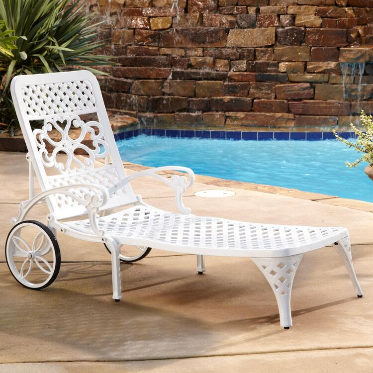 Home Styles Biscayne Chaise Lounge Chair