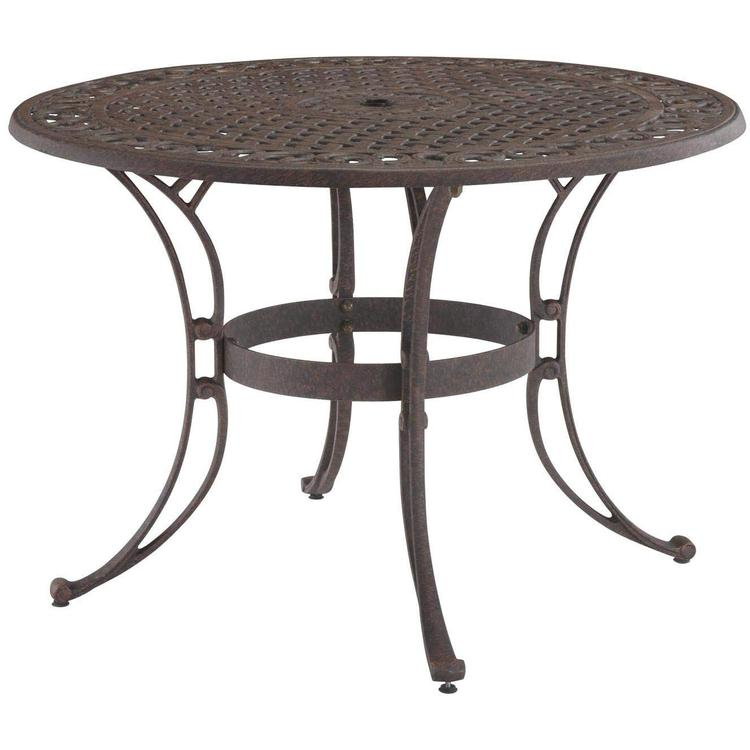 Home Styles Biscayne Round Outdoor Dining Table [Item # 5555-30]