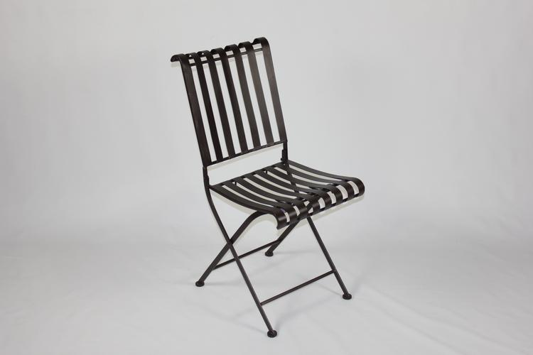 4D Concepts Rounded Metal Folding Chair (2 per box)