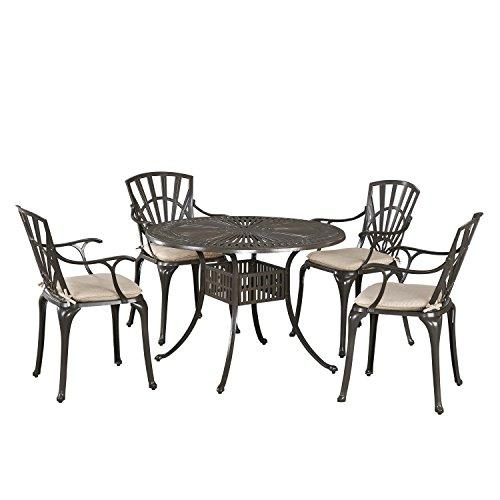 Home Styles Largo 5PC Dining Set w/ Cushions