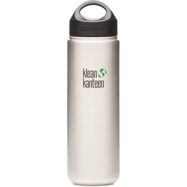 Klean Kanteen Wide Mouth Water Bottle, Size 27 oz.