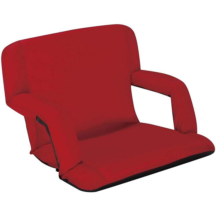 Naomi Home Venice Stadium Seat for Bleachers Portable Reclining with Armrest [Item # 58522]