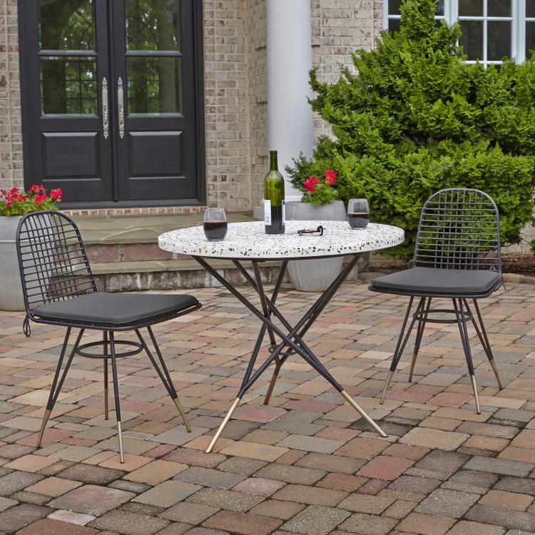 Home Styles Du Jour Outdoor/ Indoor 3 Pc. Bistro Set