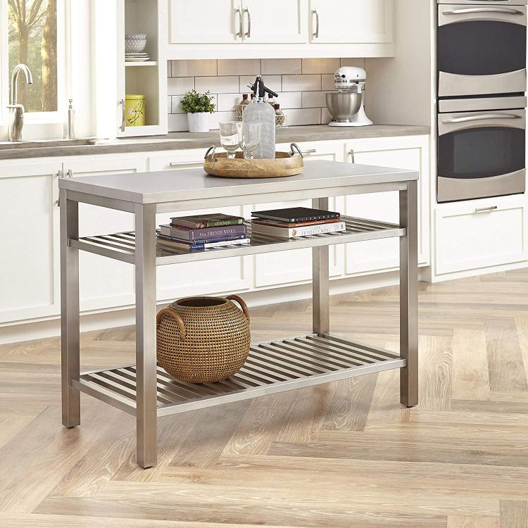 Home Styles Stainless Steel Island