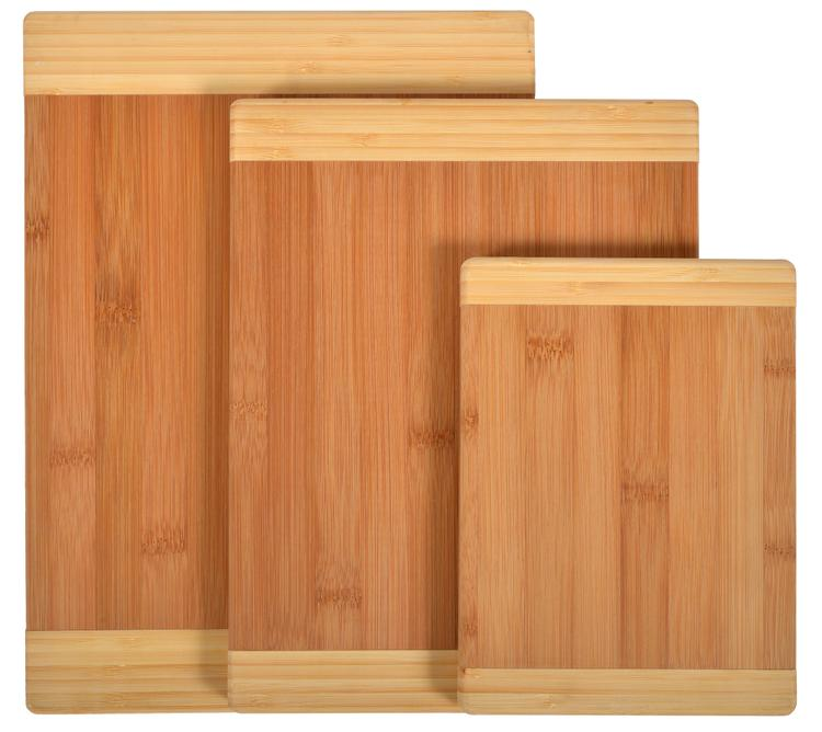 Naomi Home Matching Cutting Boards (Set of 3) - Two Tone - [45202]