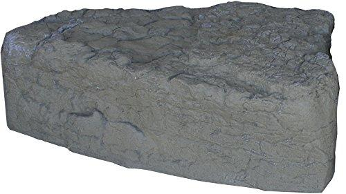 RTS Home Accents ERG2000 Left Triangle Rock -Grey/Armor Stone