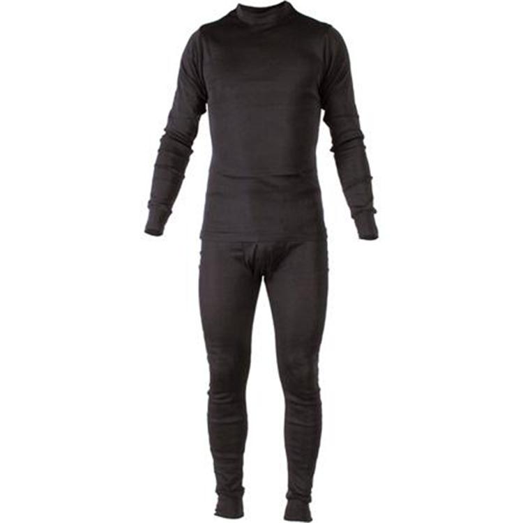 Poly-Lite Rib Thermal Underwear White Womans bottoms LG