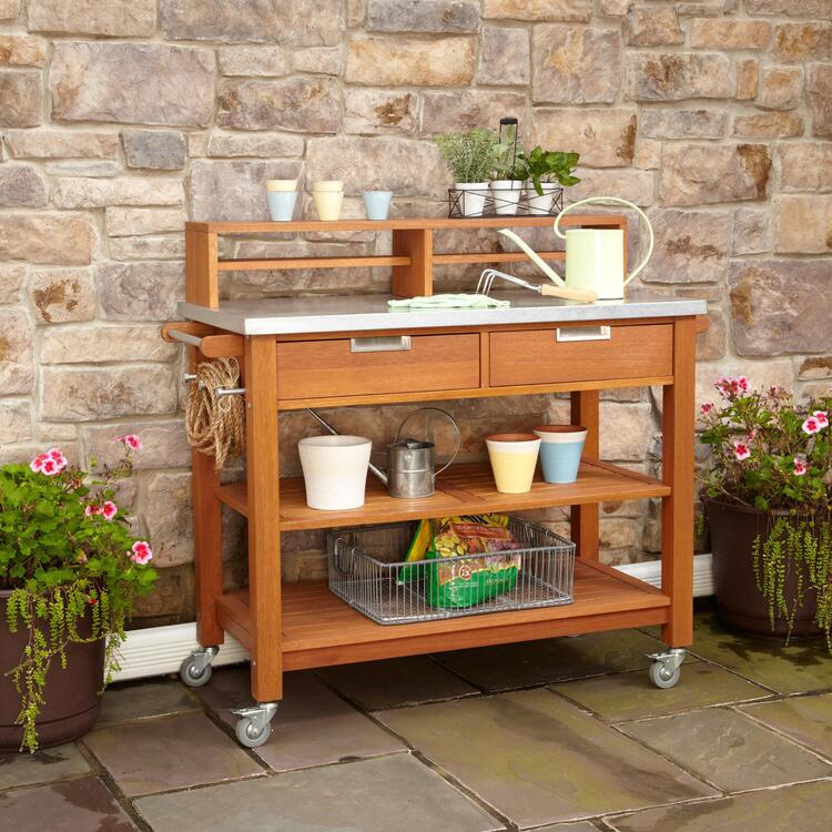 Bali Hai Potting Bench