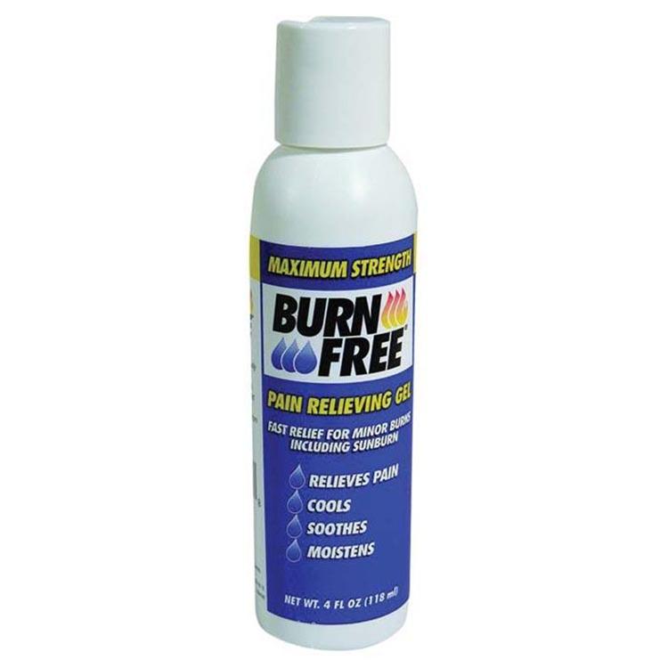 Burnfree Squeeze Bottle 4 Oz