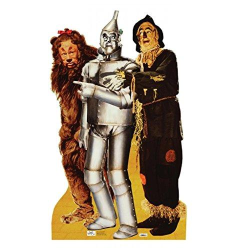 Lion Tinman & Scarecrow (Wizard of Oz)