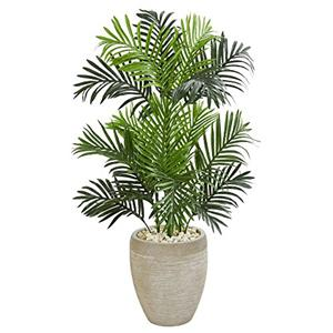 Paradise Palm Artificial Tree in Sand Colored Planter [Item # 5690D]