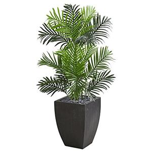 Paradise Palm Artificial Tree in Black Planter [Item # 5692C]