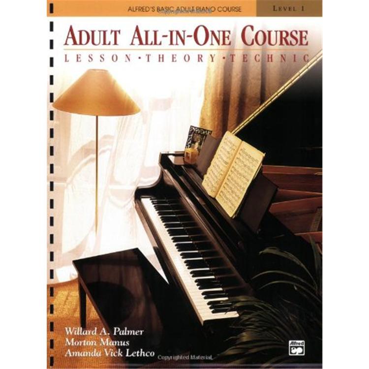 Basic Adult Allinone Piano Bk1
