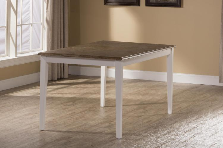 Bayberry / Embassy Rectangle Dining Table - White