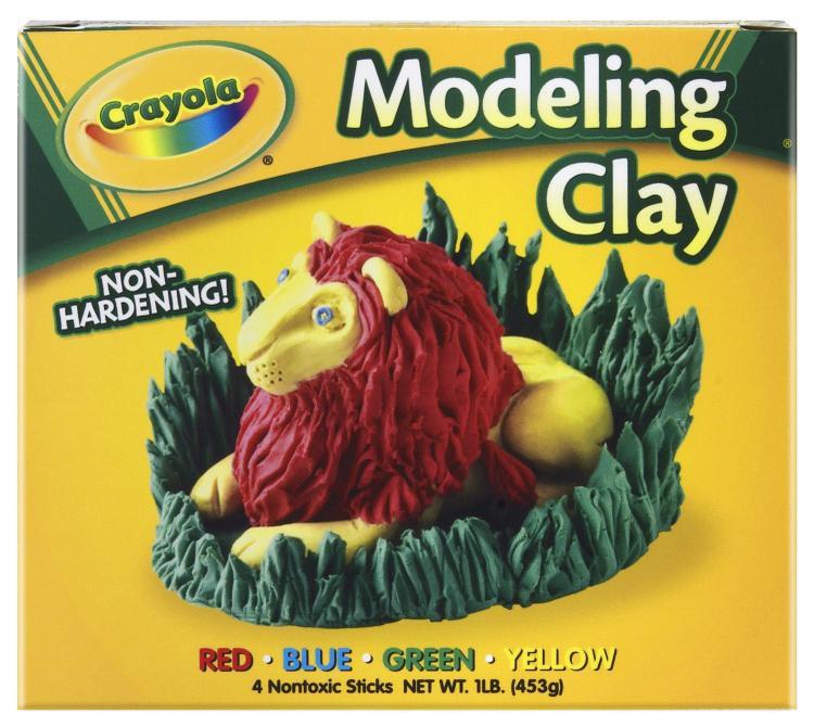 Crayola 57-0300 Clay Modeling 4Ct