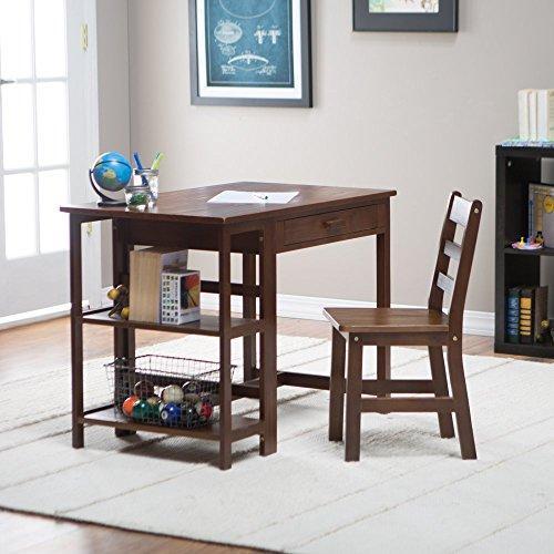 Child's Workstation/Desk - Walnut