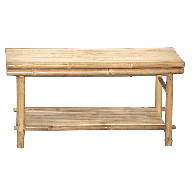 Bamboo KD Flat Top Low Table