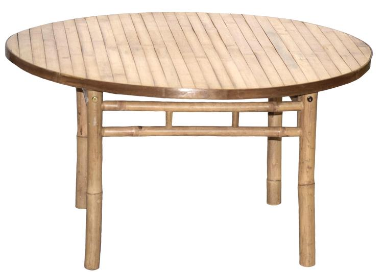 Bamboo KD Table [Item # 5872B]