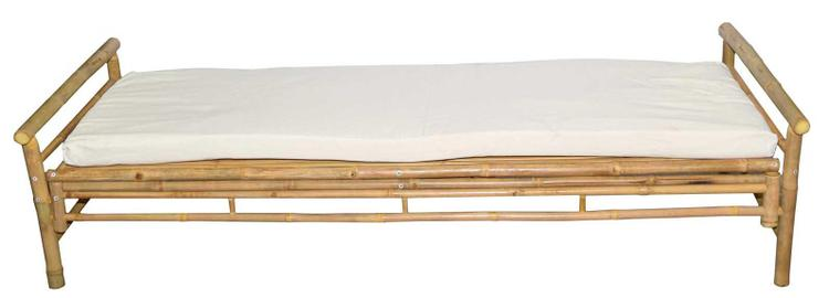 Bamboo Bed/Lounger With Cushion