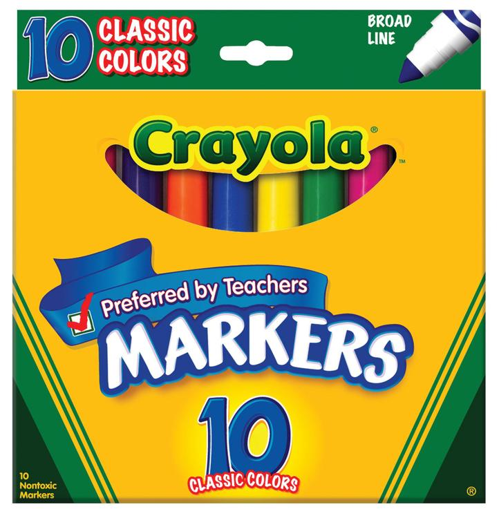 58-7722 Markers Clss Br 10Ct