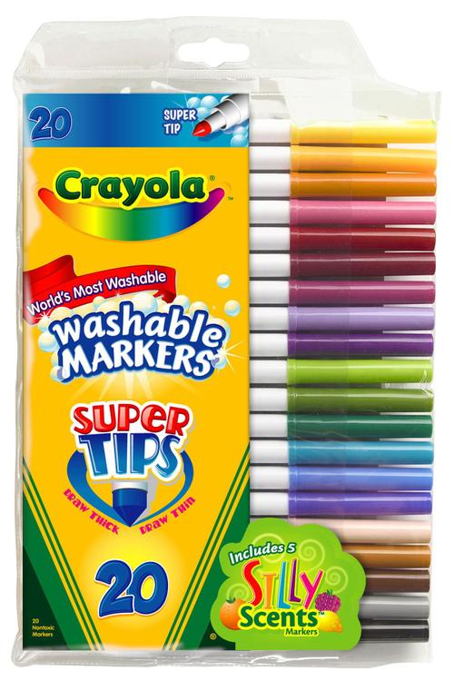 58-8106 Markers Scented 20Ct [Item # 58-8106]