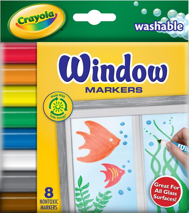 58-8165 Window Markers 8Ct