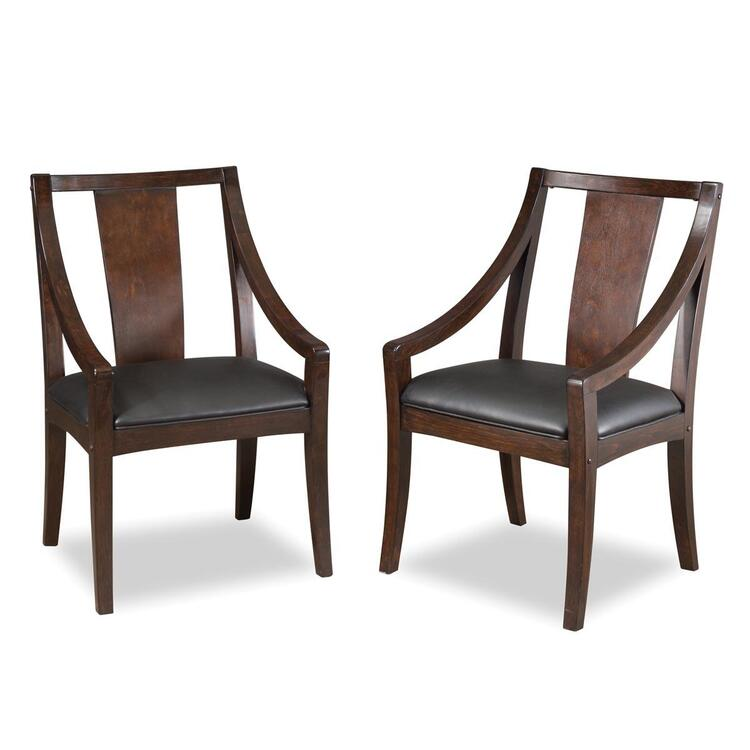 Rio Vista Game Table Chair Pair Espresso Finish
