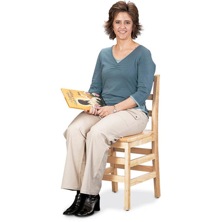 Jonti-Craft Ladderback Chair - 18