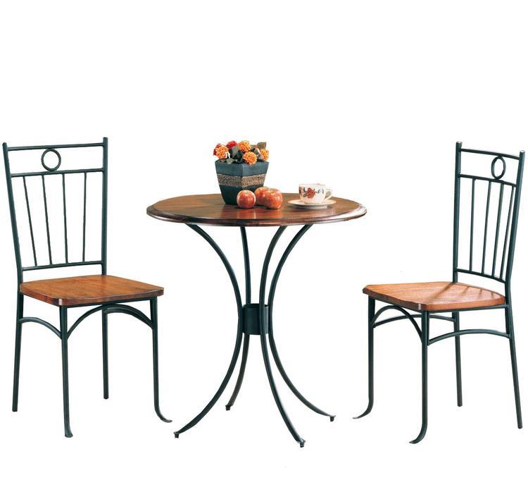 Coaster Casual Honey and Black Three-Piece Set
