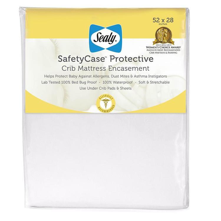 Sealy Safety Case Protective Crib Matt Encasemt