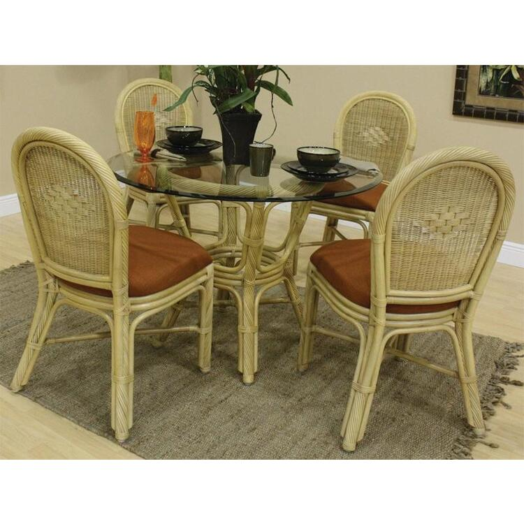 Key West Dining Set, Finish Natural