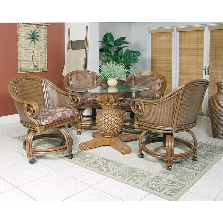Sunset Reef Indoor 5 Piece Dining Set