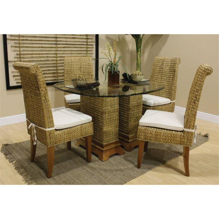 Sea Breeze 5 Piece Seagrass Dining Set