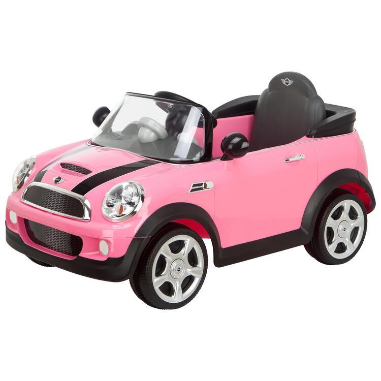 Girl's Mini Cooper 6V  Electric Ride On