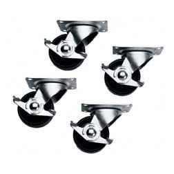 Slim 5 Series Locking Casters 4 Pack