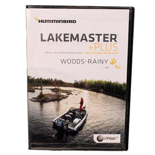 Lakemaster+ Maps, Lake-Woods/Rainy Lake