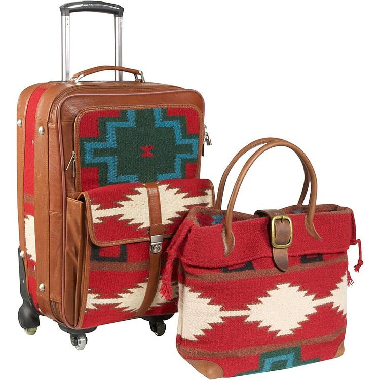 Amerileather Roamer 2-piece Luggage Set