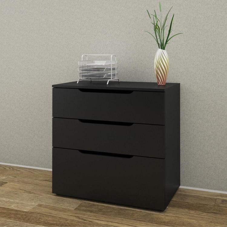 Nexera 3-Drawer Filing Cabinet