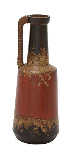 Spectacular Ceramic Rattan Handle Pot 6