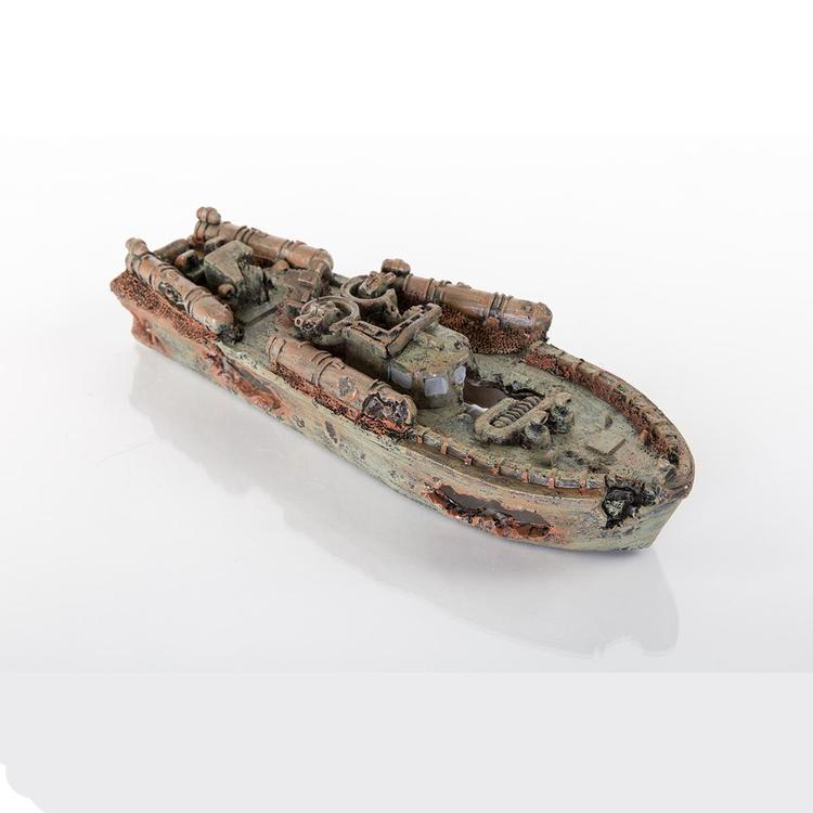 Decorative Sunken Torpedo Boat