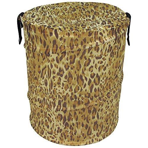 Cheetah Pattern Bongo Bag Pop Up Hamper