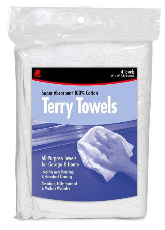 60225 Terry Towels 4Bg