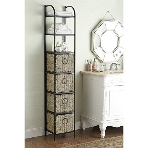 WINDSOR Bookcase w/ Baskets