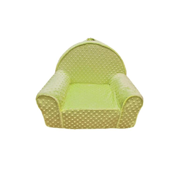 Kid's Minky Dots My First Chair