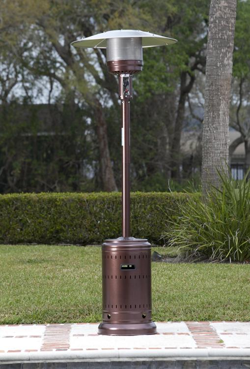 Hammer Tone Bronze Commercial Patio Heater