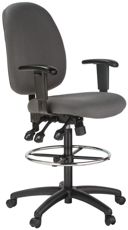 Harwick Extra Tall Ergonomic Drafting Chair